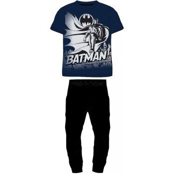 Pánské bavlněné pyžamo Batman - dlouhé