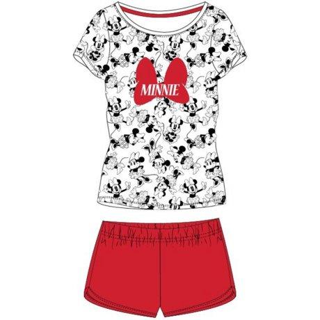 Dámské krátké pyžamo Minnie Mouse