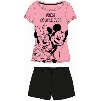 Dámské krátké pyžamo Minnie & Mickey Mouse