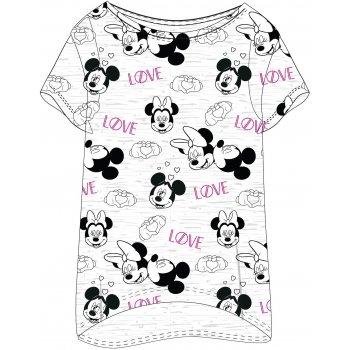 Dámské triko na spaní Mickey & Minnie Mouse - LOVE