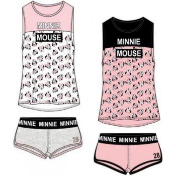Dámské bavlněné krátké pyžamo Minnie Mouse - Disney