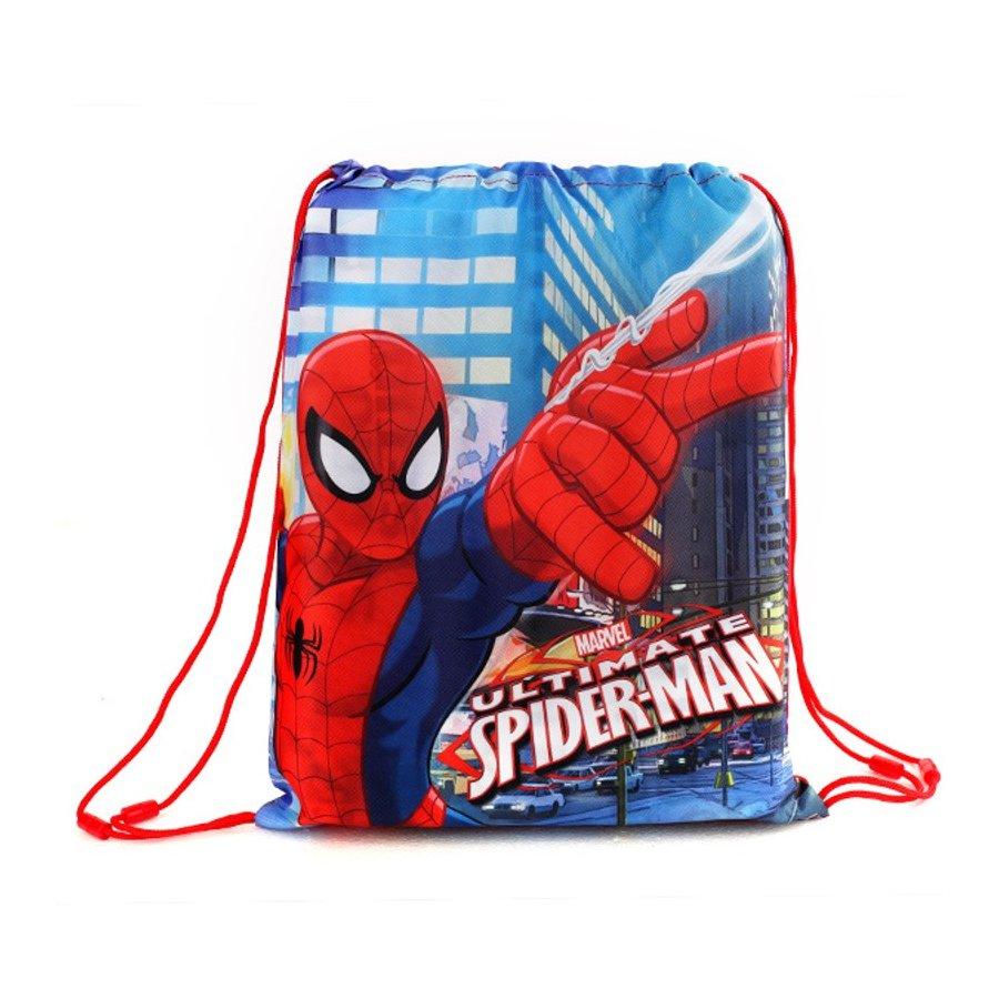 Setino · Sáček na přezůvky / vak na záda Spiderman - MARVEL - 40 x 32 cm