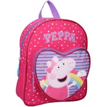 Dětský batoh s přední kapsou Prasátko Peppa