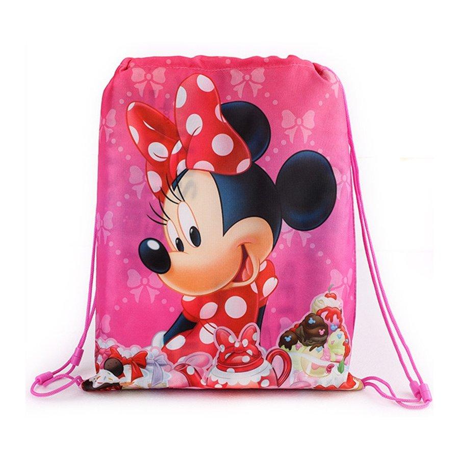 Setino · Školní sáček na přezůvky / vak na záda Minnie Mouse - Disney - 40 x 32 cm