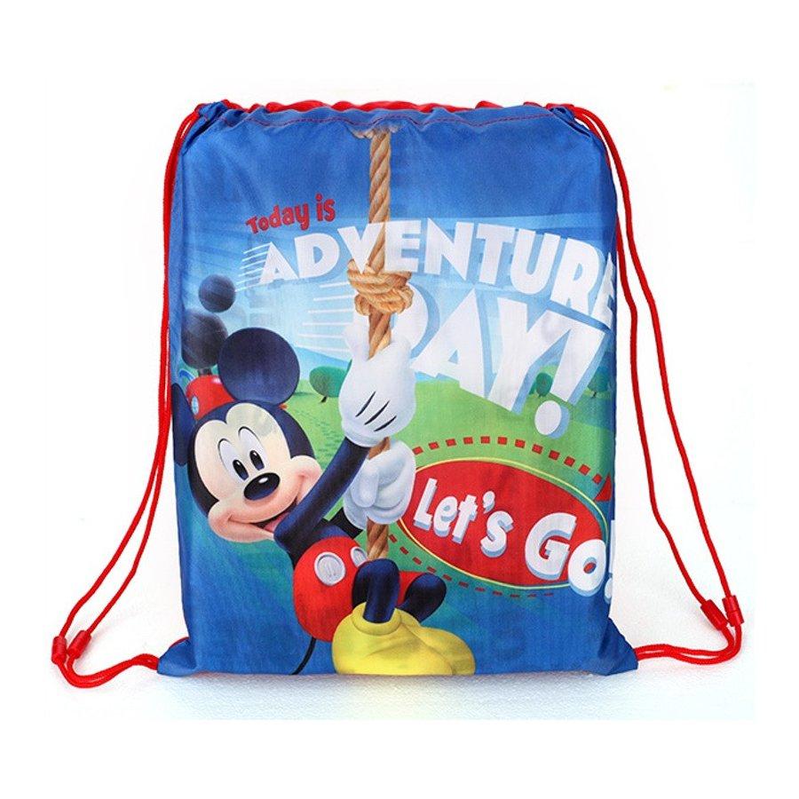 Setino · Školní sáček na přezůvky / vak na záda Mickey Mouse - Disney - 40 x 32 cm
