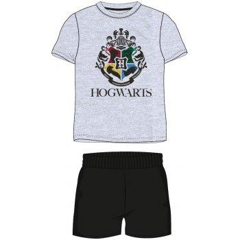 Pánské krátké pyžamo Harry Potter - melírované