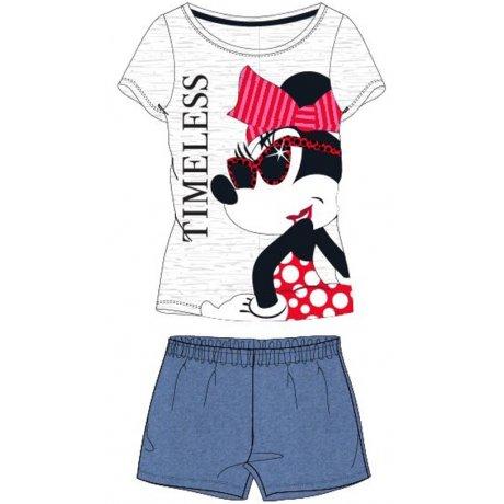 Dámské krátké pyžamo Minnie Mouse - Timeless
