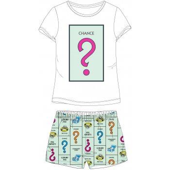 Dámské krátké pyžamo Monopoly