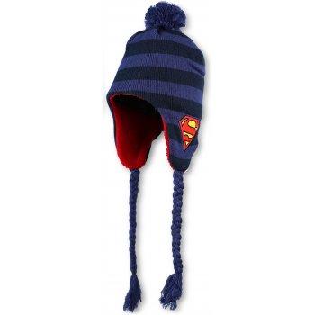 Chlapecká zimní čepice / ušanka Superman