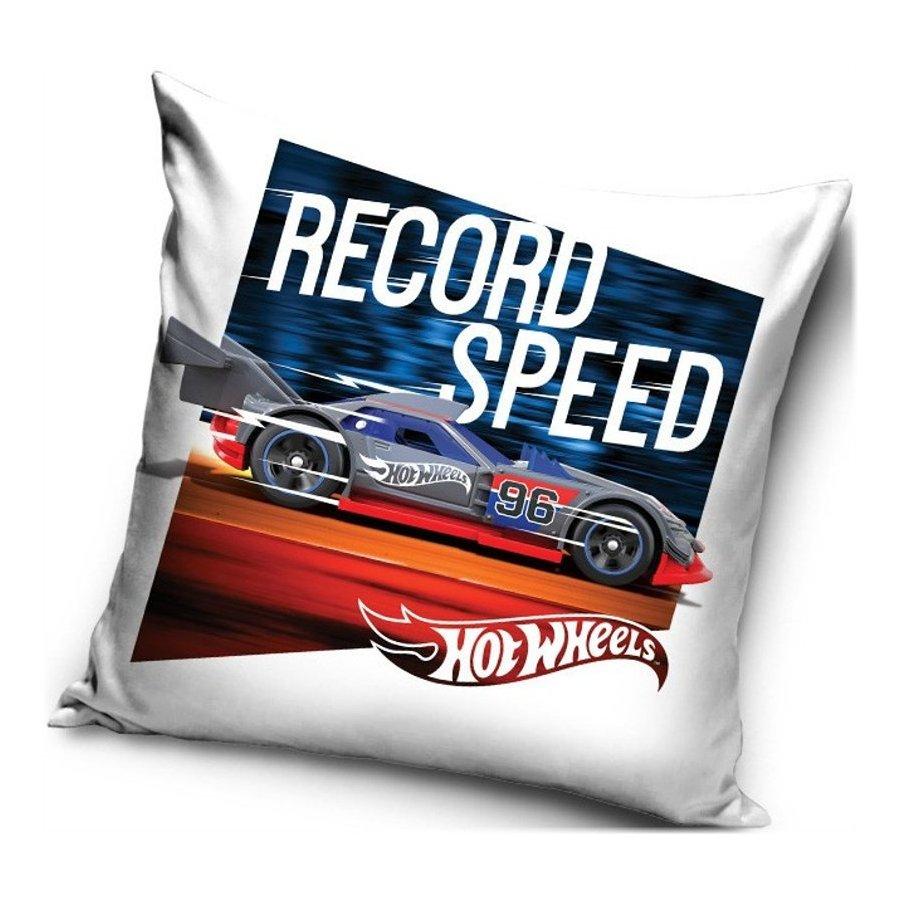 Povlak na polštář Hot Wheels - Record Speed