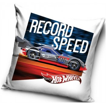 Povlak na polštář Hot Wheels - Record Speed