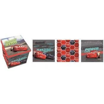 Taburet s úložným prostorem Auta - Blesk McQueen