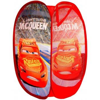 Skládací koš na hračky Auta - Blesk McQueen
