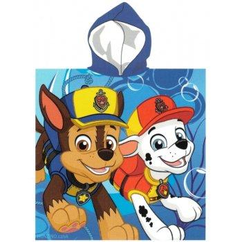 Chlapecké pončo - osuška s kapucí Tlapková patrola - Sea Dogs