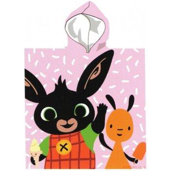 Dívčí pončo - osuška s kapucí Zajíček Bing