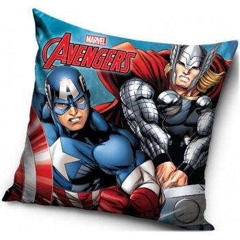 Povlak na polštář Avengers - Kapitán Amerika a Thor