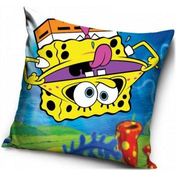 Povlak na polštář Spongebob vzhůru nohama
