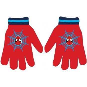 Dětské pletené prstové rukavice Spiderman