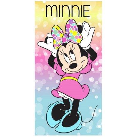 Pestrobarevná plážová osuška Minnie Mouse