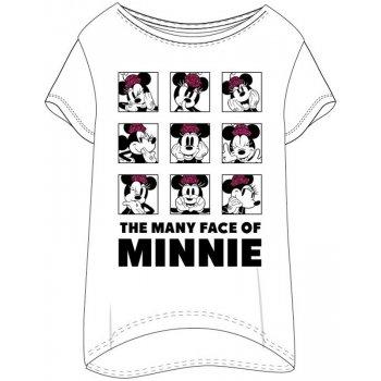Dámské triko na spaní Minnie Mouse - The many face of Minnie
