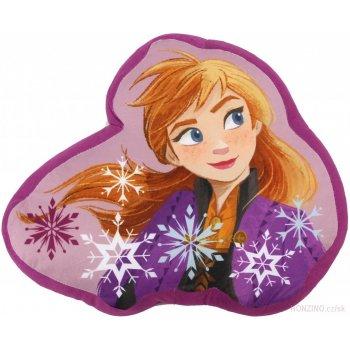 Tvarovaný polštář Ledové království - Anna