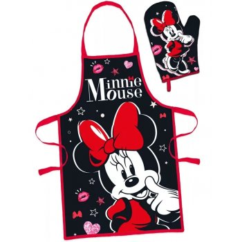 Dámská zástěra s chňapkou Minnie Mouse - Disney
