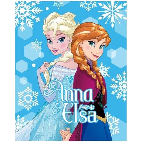 Velká fleecová deka Ledové království - Anna & Elsa