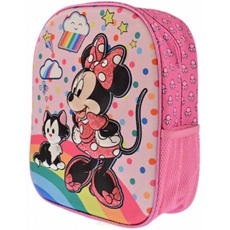 Dětský 3D plastický batoh Minnie Mouse - Disney