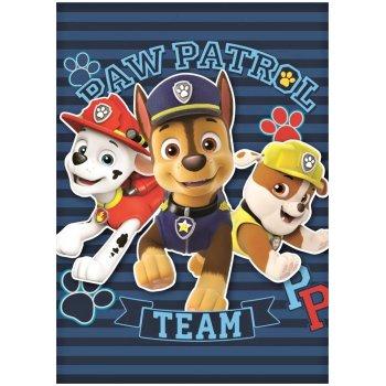 Flísová deka Tlapková patrola - Paw Patrol Team