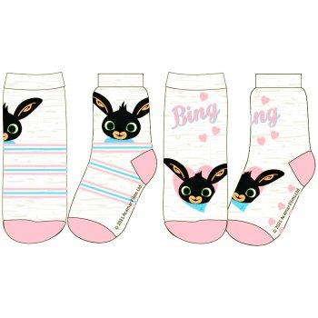 Dívčí ponožky Zajíček Bing (2 páry)