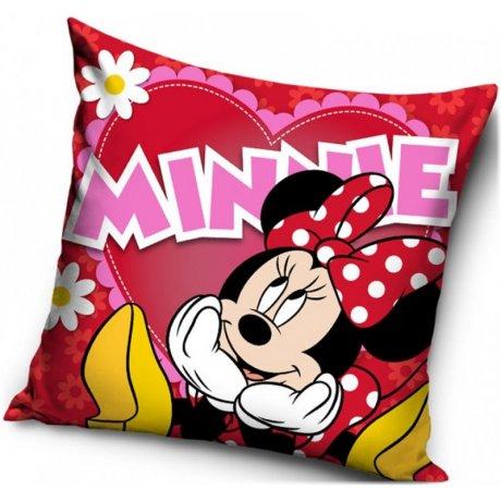 Polštář Minnie Mouse - Velké srdce