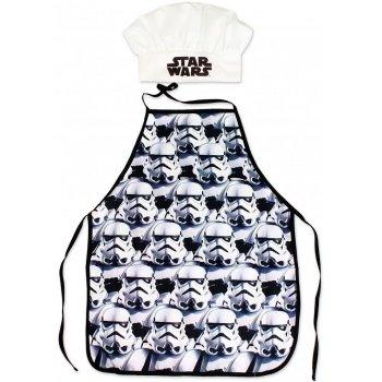 Dětská zástěra s kuchařskou čepicí Star Wars