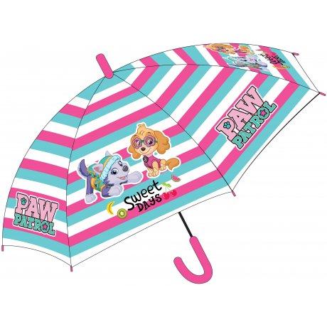 Dívčí vystřelovací deštník Tlapková patrola - Sweet days