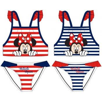 Dívčí dvoudílné plavky Minnie Mouse - Disney - proužkované