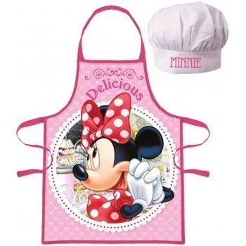 Dívčí zástěra s kuchařskou čepicí Minnie Mouse - Disney - Delicious