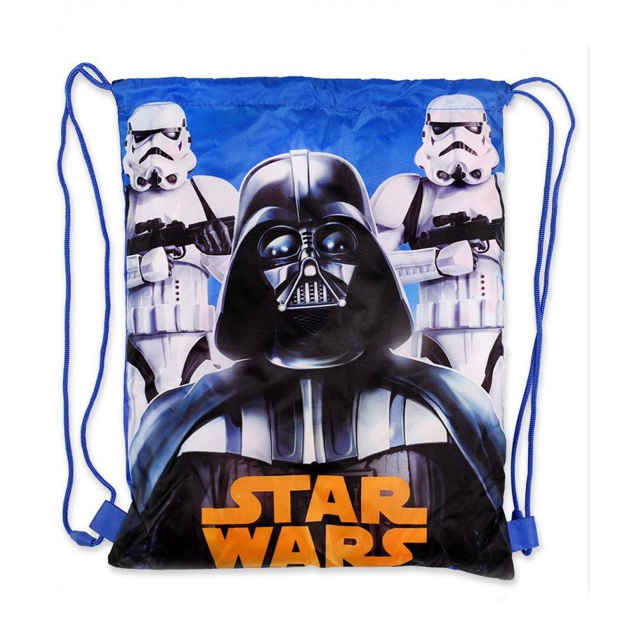 Setino · Sáček na přezůvky / vak na záda Star Wars - Hvězdné války - Darth Vader - 33 x 41 cm