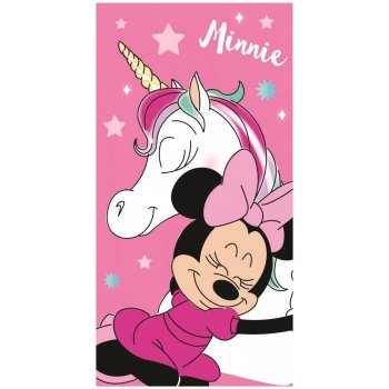Plážová osuška Minnie Mouse a jednorožec
