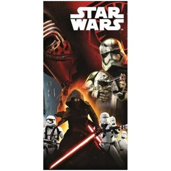 Bavlněná plážová osuška Star Wars - Stormtrooper a Darth Vader