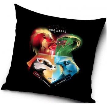 Polštář Harry Potter - barevný erb Hogwarts