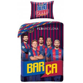 Bavlněné povlečení FC Barcelona - Blau Grana