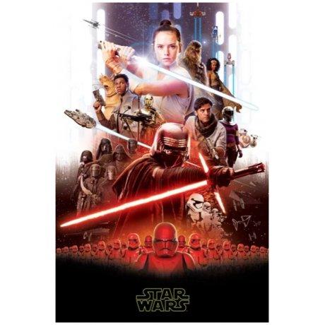 Fleecová deka Star Wars - Vzestup Skywalkera