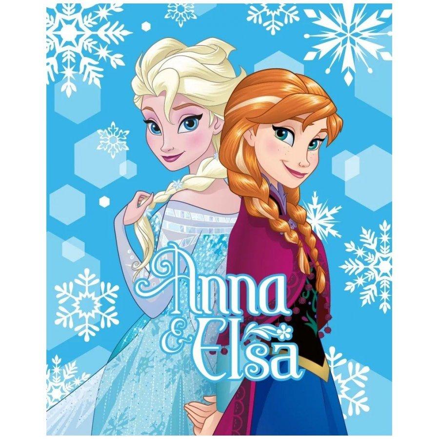 Fleecová deka Ledové království - Anna & Elsa