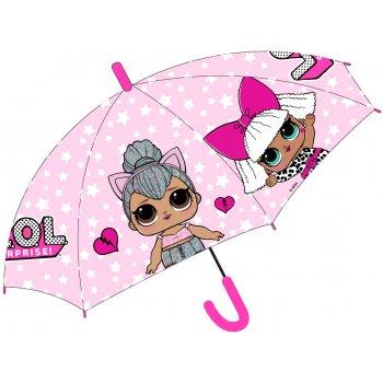 Dívčí vystřelovací deštník L.O.L. Surprise - Kitty Queen a Diva