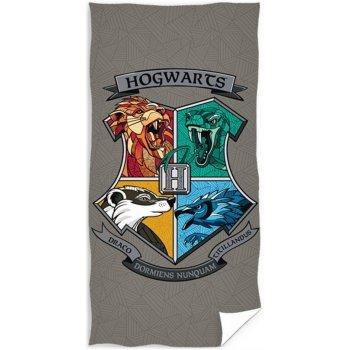 Plážová osuška Harry Potter - Erb Lycea Hogwarts