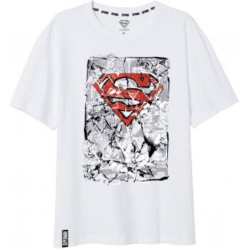 Pánské tričko Superman - bílé