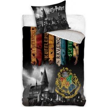 Bavlněné ložní povlečení Harry Potter - Noc v Bradavicích