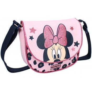 Dívčí taška přes rameno Minnie Mouse s třpytivou mašlí - Disney