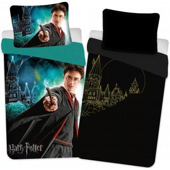 Bavlněné ložní povlečení Harry Potter - se svítícím efektem