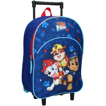 Dětský cestovní kufr na kolečkách Tlapková patrola
