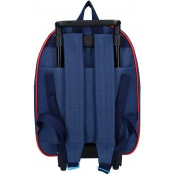 Dětský cestovní kufr na kolečkách Spiderman
